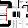 This illustration by Businessweek shows the pipeline pathways in and out of the crude oil storage hub at Cushing. Fields of tanks are fed by an 11-state pipeline network that stretches from North Dakota to the Gulf Coast of Texas.