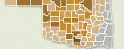 Click here for our interactive map of oil production in Oklahoma.
