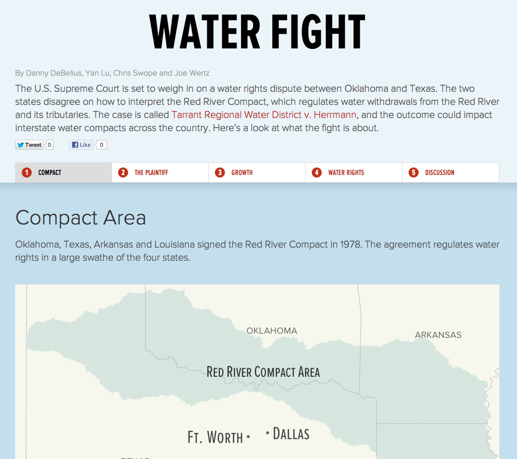 River Guide Tarrant Regional Water District V Herrmann Visualized