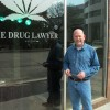 Attorney Chad Moody outside his downtown Oklahoma City office.