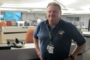 Oklahoma Department of Emergency Management Director Albert Ashwood in the agency's command center.