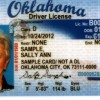 Oklahoma License Sample