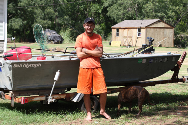 The mysterious Salt Fork fish kill is worrying residents, river-goers and anglers like Baron Owens, whose dad lives on a stretch of the river near Ponca City.