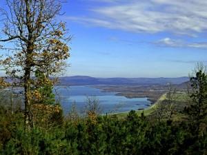 Sardis Lake in southeastern Oklahoma.