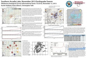 Click here to read a .pdf of research on earthquakes near Arcadia by the Oklahoma Geological Survey's Austin Holland.