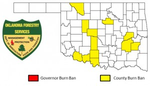 Current Burn Bans in Oklahoma.