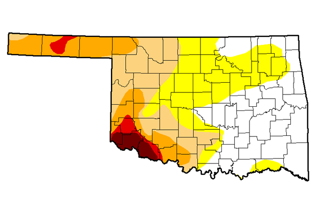20 Oklahoma Counties Designated Natural Disaster Areas Because of ...