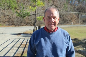Oklahoma Scenic Rivers Commission Administrator Ed Fite outside the OSRC office near Tahlequah, Okla.