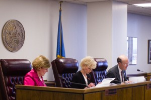 The Oklahoma Corporation Commission at the March 13, 2014 meeting.