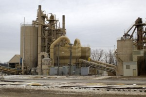 U.S. Silica's sand processing plant north of Mill Creek, Okla.