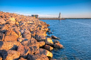 Lake Hefner in Oklahoma City.