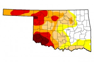 The December 9 update of drought conditions in Oklahoma