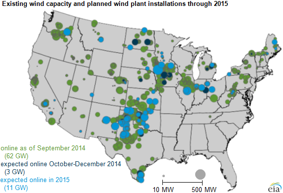 Oklahoma Among States Driving Current Future Growth In US Wind - Us map oklahoma