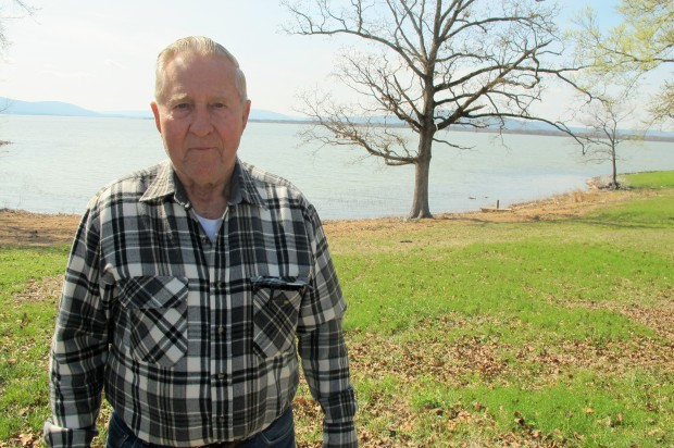 Jim Koopman had land condemned by the federal government to make way for Sardis Lake's construction.