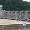 The U.S. Army Corps of Engineers' Tulsa office snapped this photo of the Webbers Falls Lock and Dam in late May 2015.