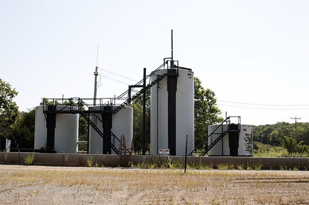 Oklahoma oil and gas regulators in August 2015 ordered oil and gas companies to sharply limit waste fluid injection at disposal wells, including this one, Equal Energy's Goodnight SWDW No. 5 in Logan County.