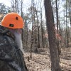Hochatown, Okla. resident Charles Benton retraces the footsteps of a Bigfoot encounter he says he had five years ago.