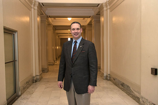 Rep. Charles McCall, R-Atoka, in early May was tapped by his republican colleagues to be their next leader.