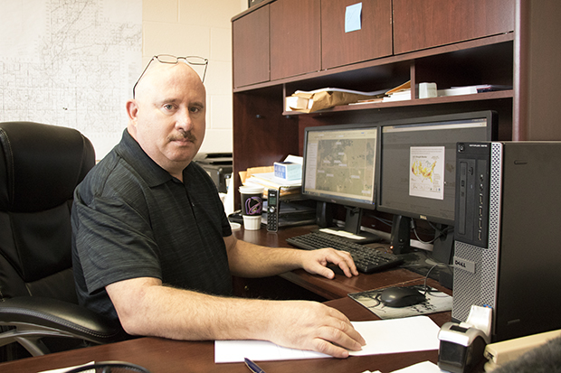 Atoka Emergency Manager Derrick Mixon.