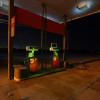 An abandoned gas station near Edmond, Okla.