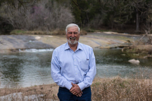 Rancher and water advocate Gary Greene owns land near Pennington Creek.