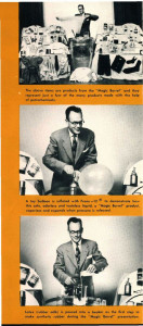 "DuPont promoted ""The Magic Barrel"" film in a brochure."