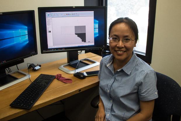 University of Oklahoma researcher Qingtao Zhou.