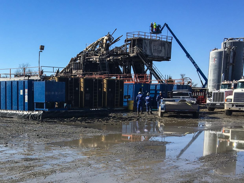 Authorities Investigating Oklahoma Rig Explosion, Deadliest