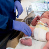 Baby Jacob weighs 7.14 pounds - some infants aren't as lucky.