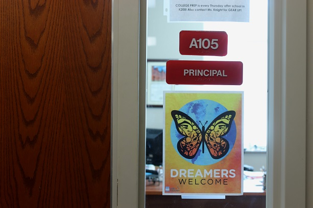 The principal at U.S. Grant High School in Oklahoma City wants undocumented students to feel safe in school, so he put