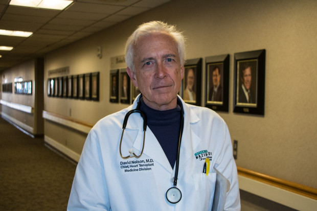 David Nelson, chief of heart transplant medicine at INTEGRIS Baptist Medical Center in Oklahoma City.