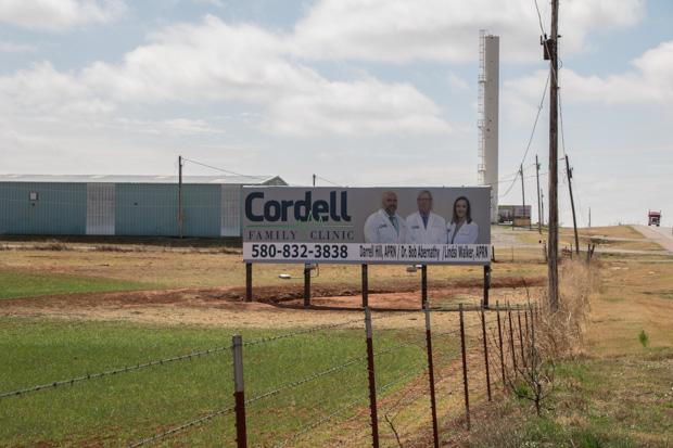 Cordell, Oklahoma.