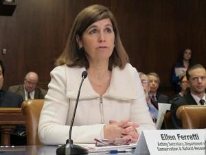 DCNR Secretary Ellen Ferretti.