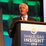 Governor Corbett speaks to the Shale Gas Insight conference in Philadelphia