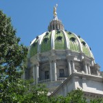 Pennsylvania's State Capitol in Harrisburg.