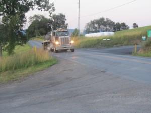 truck, susque county