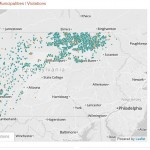 Click on the image to view StateImpact Pennsylvania's interactive drilling app