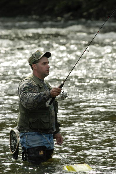 Pennsylvania opens trout fishing season stateimpact for Trout fishing pa
