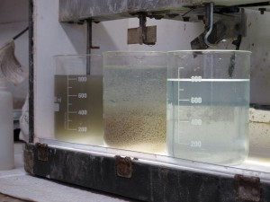 The before, during and after of the fracking fluid recycling process