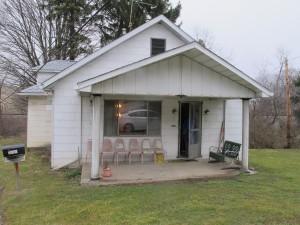 Edna Moten's house in Rae, Pa.
