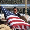 Republican Mitt Romney campaigns in Wyoming County, Pennsylvania