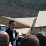 Mitt Romney campaigns in Wyoming County, Pennsylvania