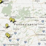 Click on the image above to go to an interactive map of each deep-injection well in Pennsylvania, with information about each well's location, operator and monthly intake allowance.