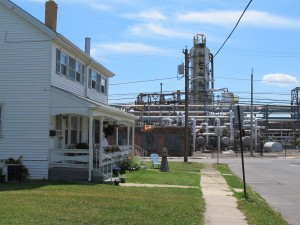 The Sunoco refinery in Marcus Hook remains mostly shuttered. New plans would utilize part of the plant to process Marcellus Shale gas, but that project won't ramp up until 2014.