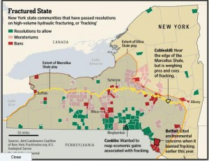 Wall street journal maps local fracking bans stateimpact wall street journal ccuart Gallery