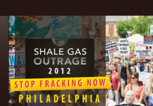 Shale Gas Outrage organizers have removed the orange and red flame from their website.