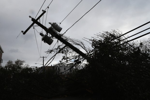 Sandy left more than 1.3 million Pennsylvanians in the dark