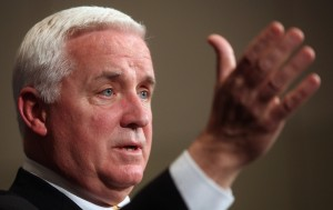 At a press conference promoting a new government transparency website, Corbett refused to explain why he accepted a free vacation from a friend and campaign donor who does business with the natural gas industry.