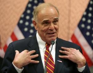 Former Pennsylvania Gov. Ed Rendell.