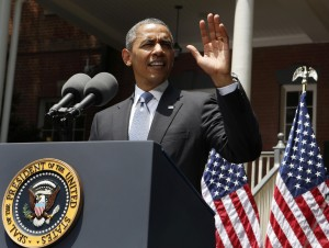 President Barack Obama explains his vision to reduce carbon pollution while preparing the country for the impacts of climate change while at Georgetown University.